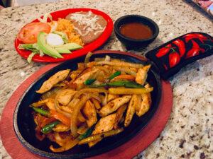 Chicken Fajitas with your choice of corn or flour tortillas